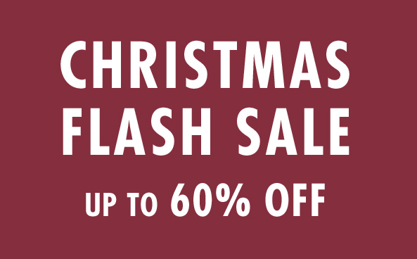 Christmas Flash Sale up to 60% off