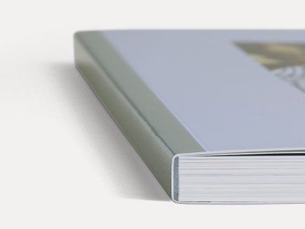 Personalised photo album cover and spine