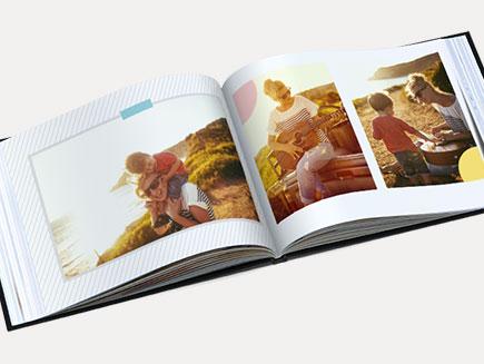 Personalised design of photo album