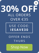 30% OFF orders over €35 – Use code: IESAVE30