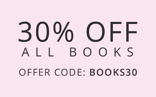 30% off All Books Hurry, offer ends soon