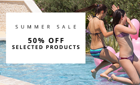 Summer Sale 50% off Selected Products