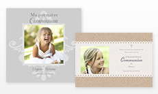Cartes de communion