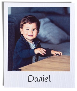 fotografia retro de chico llamado Daniel