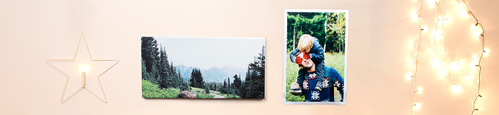 Collage and Classic Canvas prints