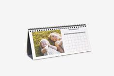 Calendario online de mesa