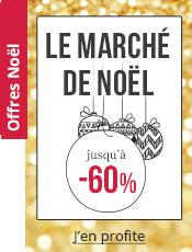 Marché de Noël Jusqu'à -60%