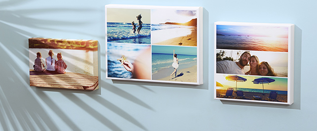 Holiday Collage Canvas Prints