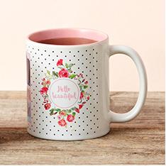 a mug on a table