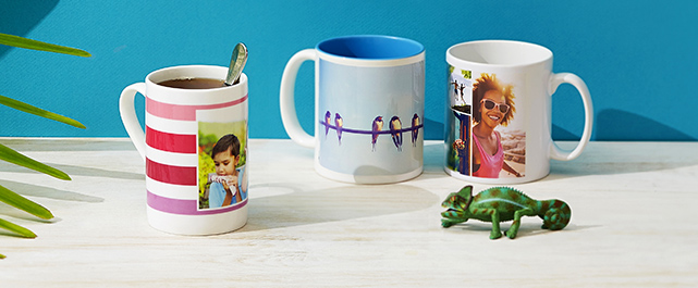 Holiday Photo Mugs