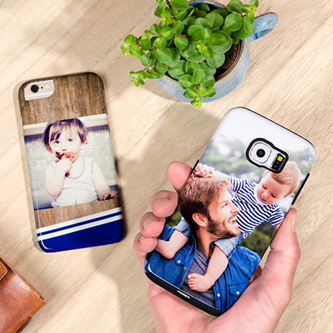 Men's personalised Samsung phone cases