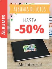 Álbumes de Fotos Hasta -50%