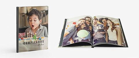 Livro de fotos vertical