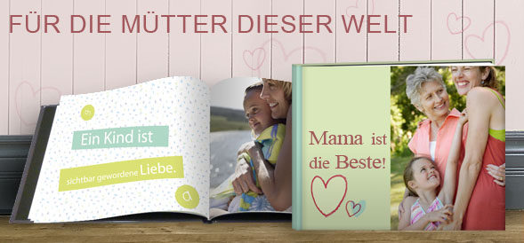 geschenke f r mama fotoalbum photobox. Black Bedroom Furniture Sets. Home Design Ideas