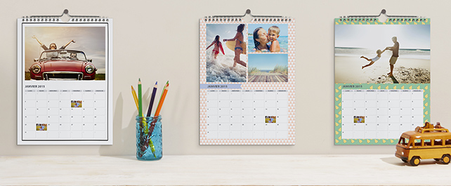A4 Holiday Photo Calendar