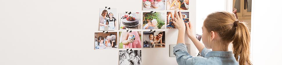 Tirages photo dans différentes tailles