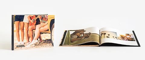 Livro de fotos panorâmico