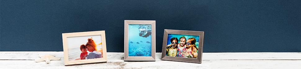Collection d'objets photo personnalisés