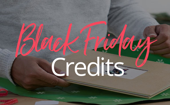 BLACK FRIDAY CREDIT SALE UP TO 70% OFF - For a limited time only