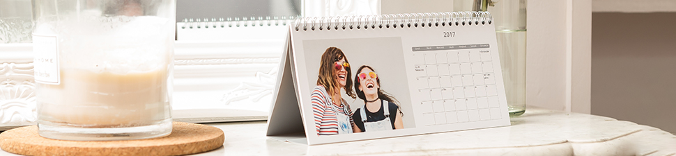 Personlig fotokalender och fotoalmanacka