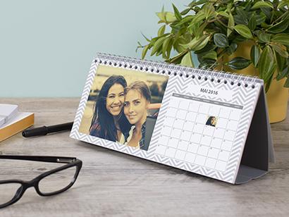 Calendrier de bureau photobox