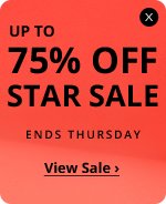 Up to 75% off Star Sale– Up to 75% off