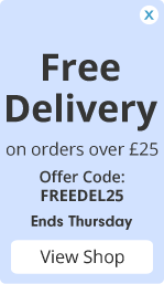 Free Delivery on offers over £25