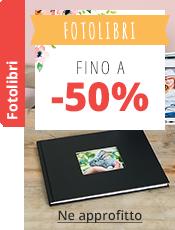 Fotolibri Fino a -50%