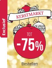 Kerstmarkt Tot 75% korting