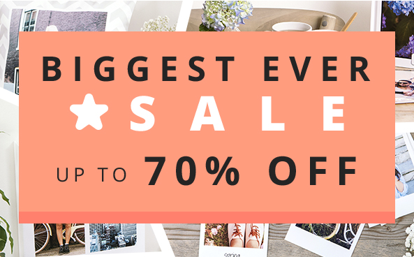 STAR SALE - up to 70% OFF Vouchers available for our wide range