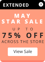 May Star Sale – Up to 75% OFF across the store
