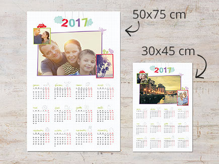 photo collage calendar
