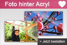 Fotos hinter Acryl