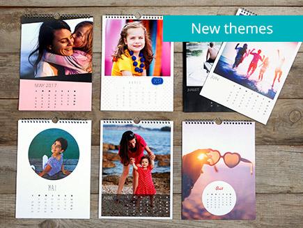 various calendar themes