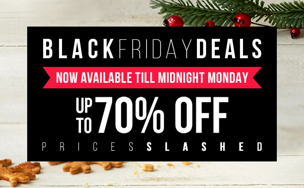 BLACK FRIDAY SPECIAL Hurry, ends midnight Monday