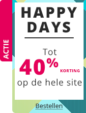 Happy Days Tot 40% korting op de hele site!