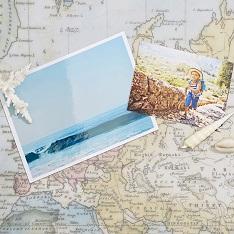 Large photo prints of travels