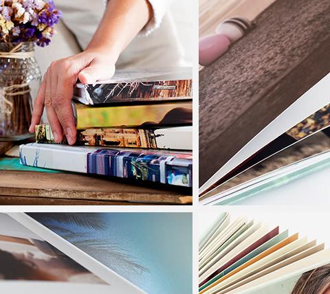 Os álbuns digitais guardam as nossas recordações para sempre