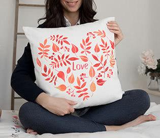 Almofadas personalizadas para o dia dos namorados