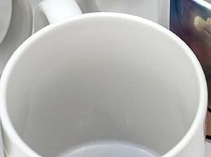 Taza de cerámica