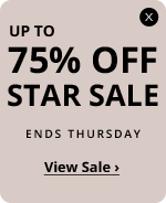 Up to 75% off Star Sale – Up to 75% off