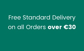 Free Standard Delivery on orders over €30