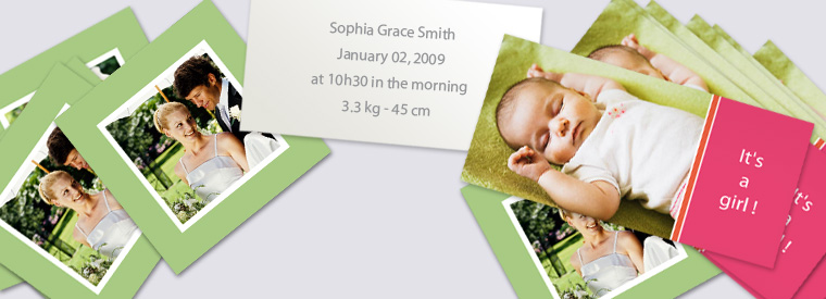 Introducing Personal Announcement and Invitation Cards from Photobox.co.uk