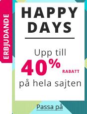 Happy Days Upp till 40% rabatt på hela sajten