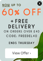 Free Delivery on orders over £40