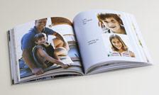 Square Softcover book