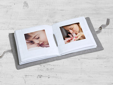 Soft Baby Photo Book