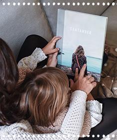 Con el libro de fotos o fotolibro puedes contar tu historia