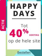 Happy Days Tot 40% korting op de hele site!