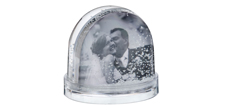 Personalise your own Snow Globe with a photo
